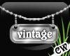 *Label* Niklace-Vintage