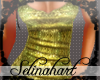 *S*Sequined Gold Tank