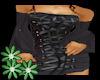 !Z! Black Lace Up Dress