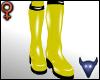PVC boots yellow (f)