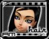 [AM] Megan Black Hair