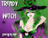 Trendy Halloween Witch
