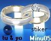 marriage ring tu & yo