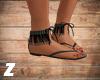 ~Z~ Lilou Sandals Black