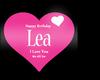 Happy BirthDay Lea
