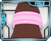 [D]Asa Anklet Pink M
