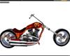 BBJ Man in Flames Harley