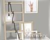 H. Girl Ladder Decor