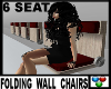 |A| RED WALL CHAIRS 6