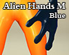 Alien Hands M Blue