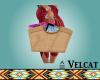 V: Straw Summer Bag