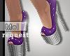 Mel*Anya Shine Heels/Req