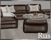 Rus Leather Livingroom