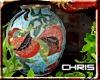 Oriental Petal Vase