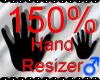 *M* Hand Scaler 150%