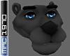 Cartoon Panther Head