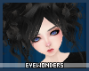 *E Black Cyndi Hair