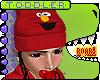 T. Elmo + Braids Beanie