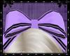 Ms Sailor purple bow
