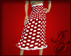 Cherry Dot Skirt