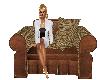 Brown n Beige Chair
