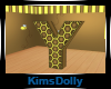 *KD* Bee Room Letter Y