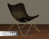 !M! Brown Accent Chair