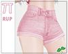  Pi  Pink Shorts