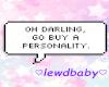 ePersonality Bubblee