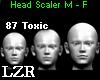 Head Scaler 87% Toxic