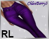Lilly Leather Purple RL