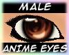Anime Eyes Brown [M]