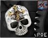 !P Bolo Tie_Skull