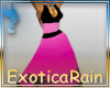 (E)Caribbean Wine Dress