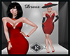 K-formal dress red