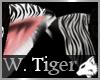 White Tiger Cat Ears