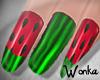W° Watermelon Nails