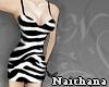 [Nait] Zebra dress