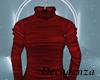 !D! Red knit Turtleneck