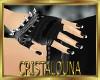 Black  gothic gloves