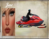 *J *SNOWMOBILE RED