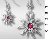 ! L! Paula Earrings Pink