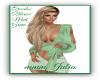 ArcadiaBlouse Mint Green
