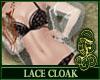Lace Cloak White