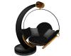 Black Couple Swing Chair