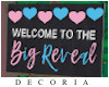 Gender Reveal sign