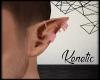 K. Pink Elf Earrings