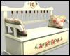 Cream Romance Bench