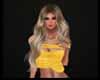 Aari Yellow G Top