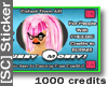 [SC] *1K* Promo Sticker